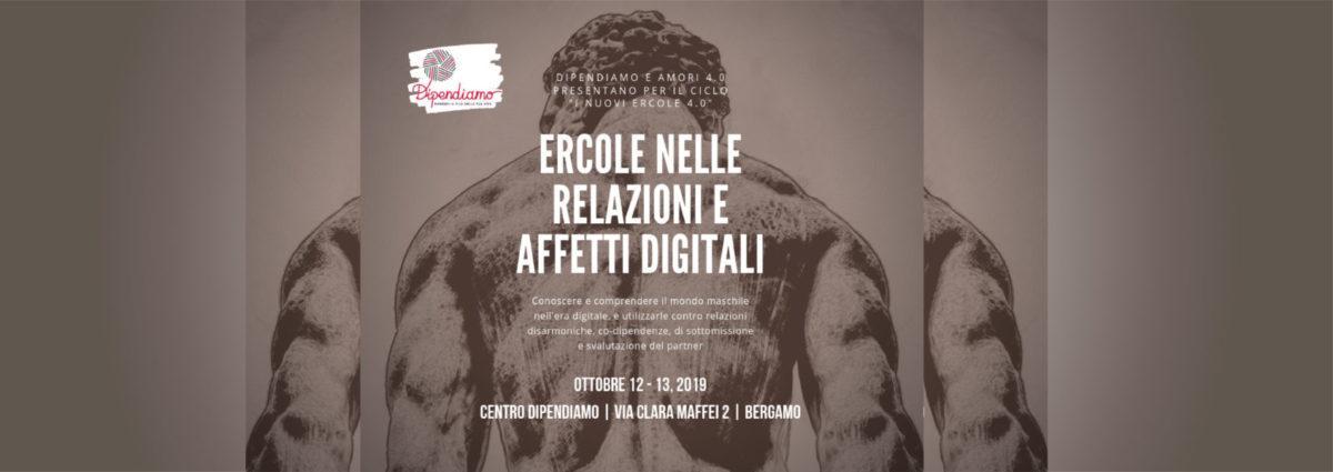 12 -13 ottobre Centro Dipendiamo Le fatiche di Ercole Amalia Prunotto